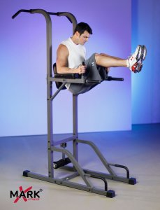 XMark Fitness Power Tower With Pull-Up Stand